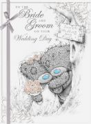 Me to You Bride & Groom Wedding Day Card